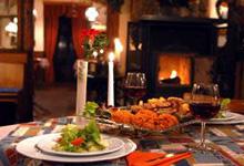 Dinner bei Kerzenschein