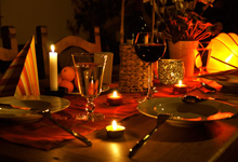 Abendessen der besonderen Art in Duisburg