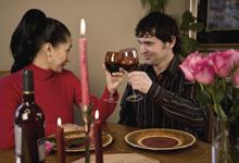 berblick zum candle light dinner in mannheim. Black Bedroom Furniture Sets. Home Design Ideas