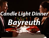 Candle Light Dinner im Raum Bayreuth