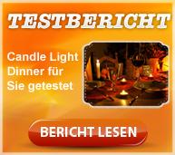 Candle Light Dinner im Test, Erlebnisbericht