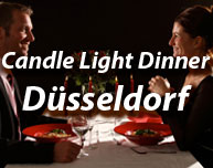 Candle Light Dinner in Düsseldorf