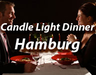 Candle Light Dinner in Hamburg