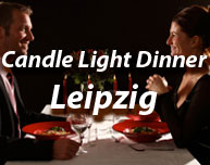Candle Light Dinner in Leipzig