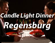 Candle Light Dinner in Regensburg