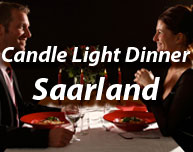 Candle Light Dinner im Saarland