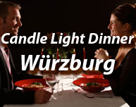 Candle Light Dinner in Würzburg (Region)