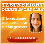 Bewertung, Test zum Dinner in the Dark