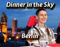 Dinner in the Sky Berlin Erlebnisbericht