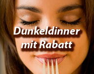 Dinner in the Dark mit Rabatt