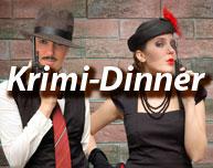 Krimi-Dinner - Krimidinner, Dinnerkrimi und Co.