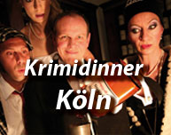 Krimidinner in Köln