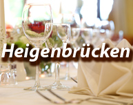 Dinner in Heigenbrücken