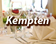 Dinner in Kempten
