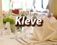 Dinner in Kleve