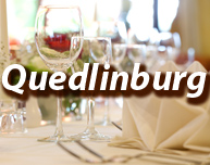 Dinner in Quedlinburg