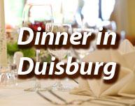 Dinner in Duisburg